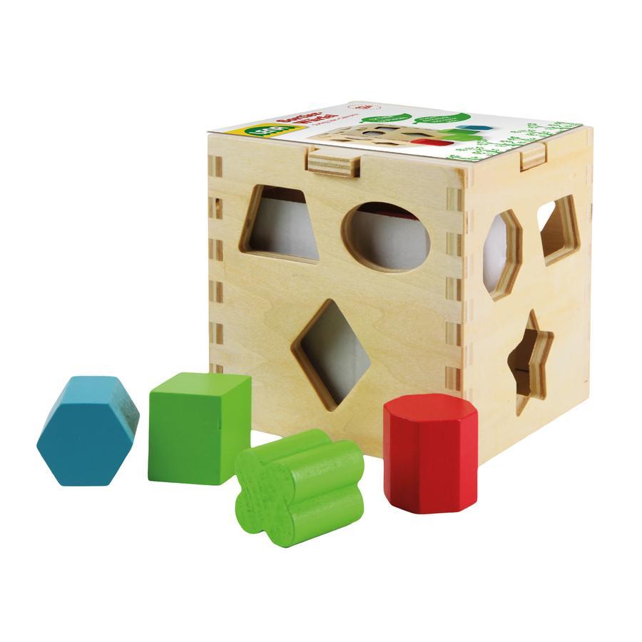 LENA® Sortierwürfel Holz