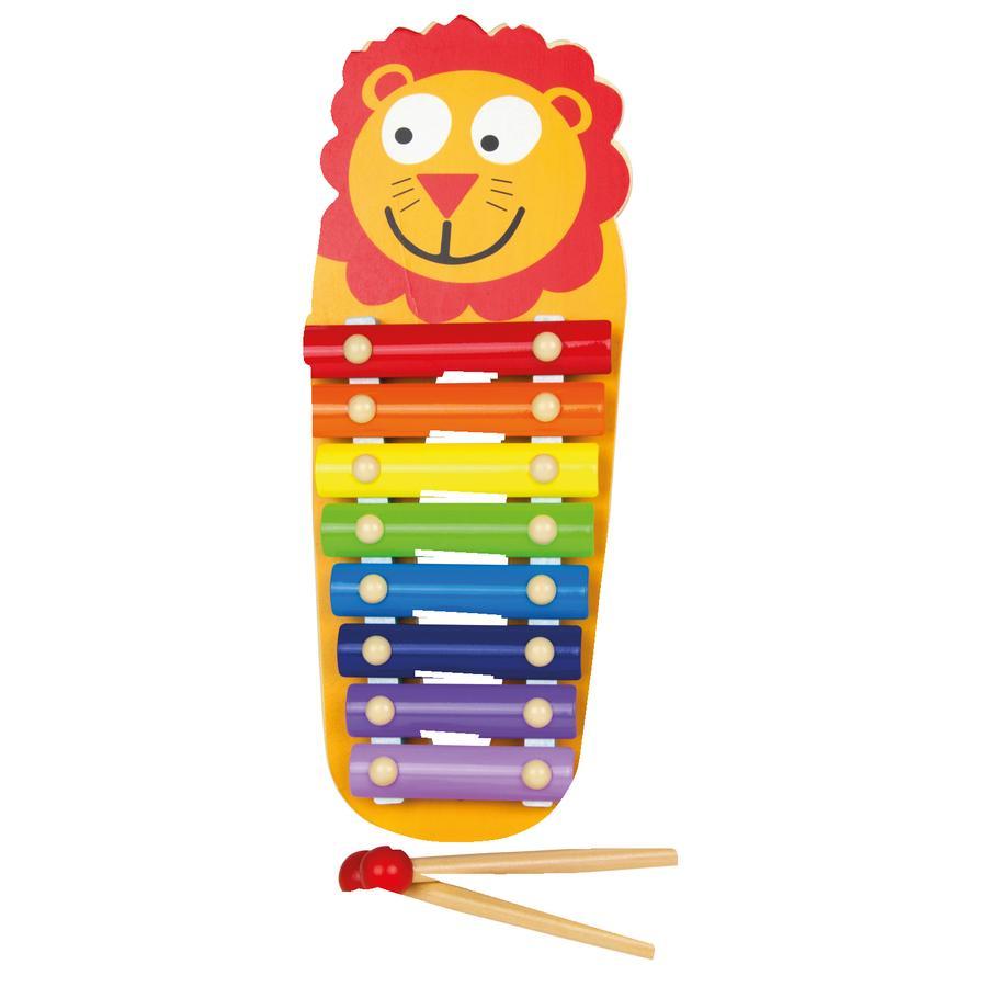LENA® houten xylofoon leeuw