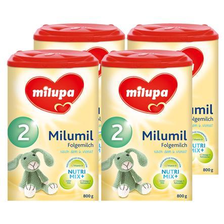 milupa Milumil Folgemilch 2 4 x 800 g