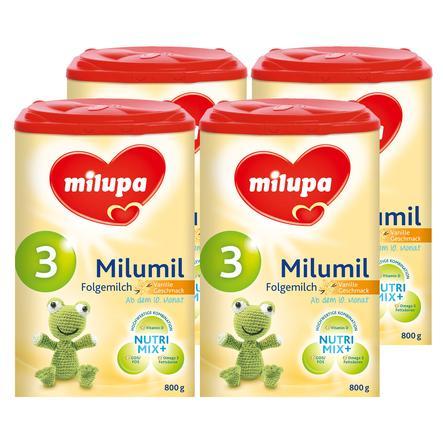 milupa Milumil Folgemilch mit Vanille 4 x 800 g