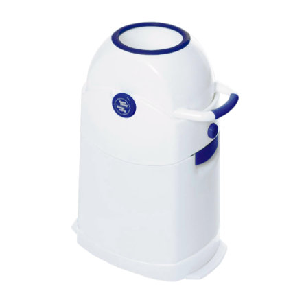 Diaper Champ Poubelle à couches Regular, bleu