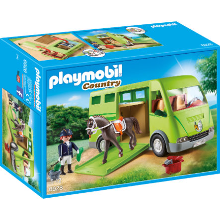 PLAYMOBIL® Country Hevoskuljetusauto 6928