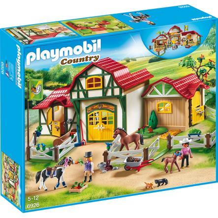PLAYMOBIL® Country - Hestestald med gård 6926
