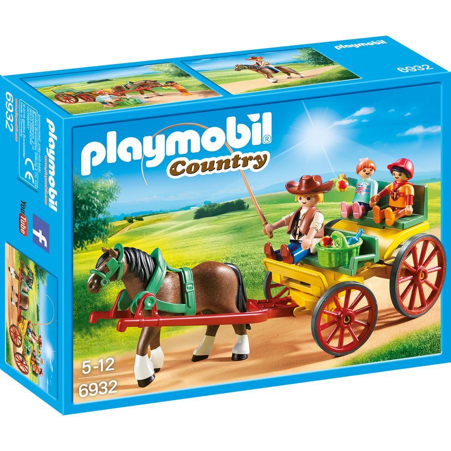 PLAYMOBIL® Country Hevoskärryt 6932