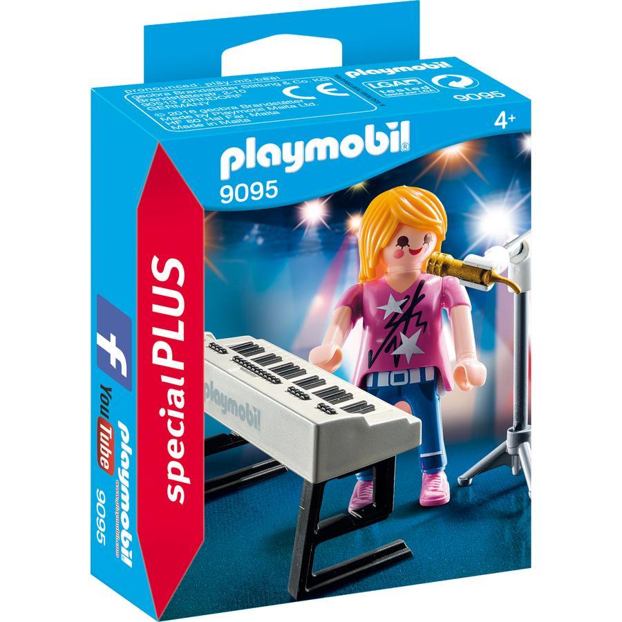 PLAYMOBIL® SpecialPLUS Cantante con tastiera 9095