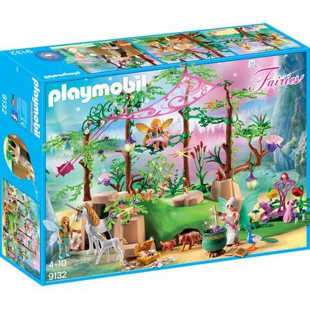PLAYMOBIL® Fairies Forêt enchantée 9132
