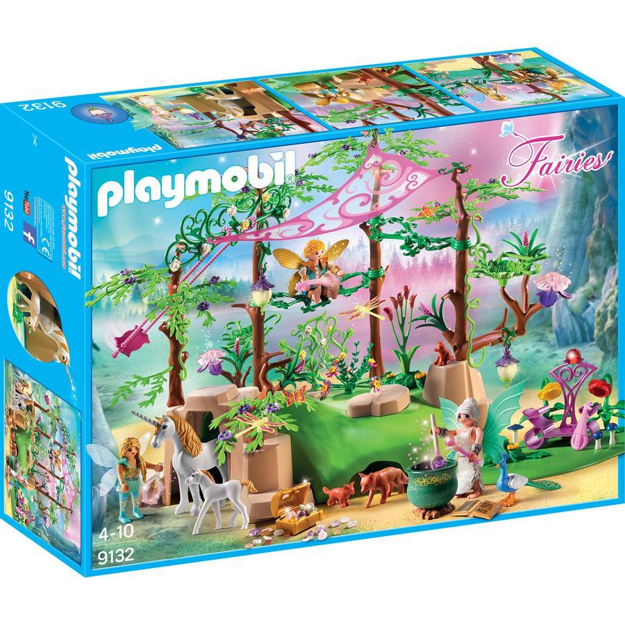 PLAYMOBIL® Fairies Magisk älvskog 9132
