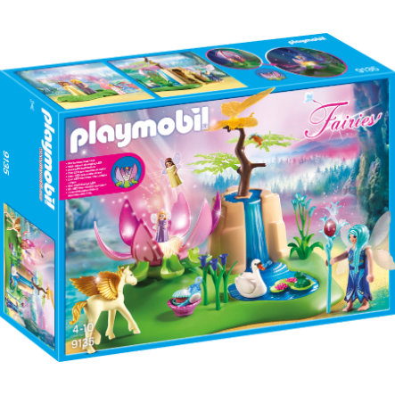 PLAYMOBIL® Fairies Svítící květ malých víl u vodopádu 9135