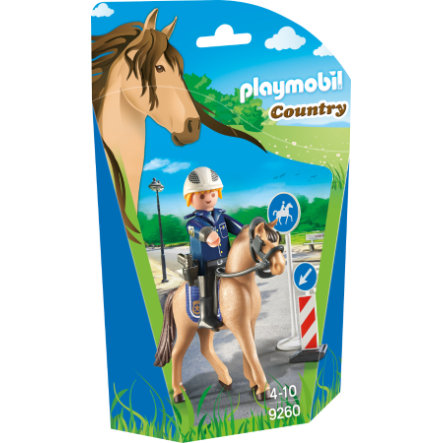 PLAYMOBIL® Country Policier avec cheval 9260