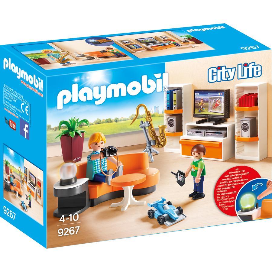 PLAYMOBIL® City Life Wohnzimmer 9267