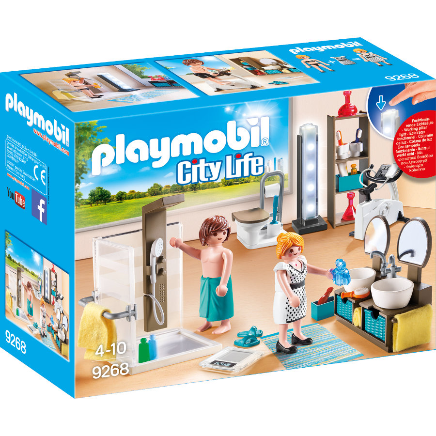 PLAYMOBIL® City Life Badezimmer 9268