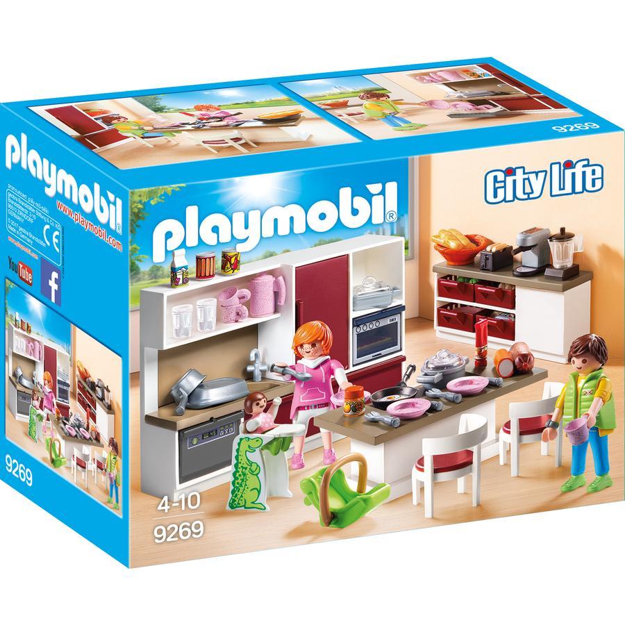 PLAYMOBIL® City Life Stort familiekøkken 9269