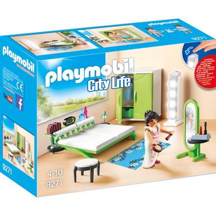 PLAYMOBIL® City Life Chambre avec espace maquillage 9271