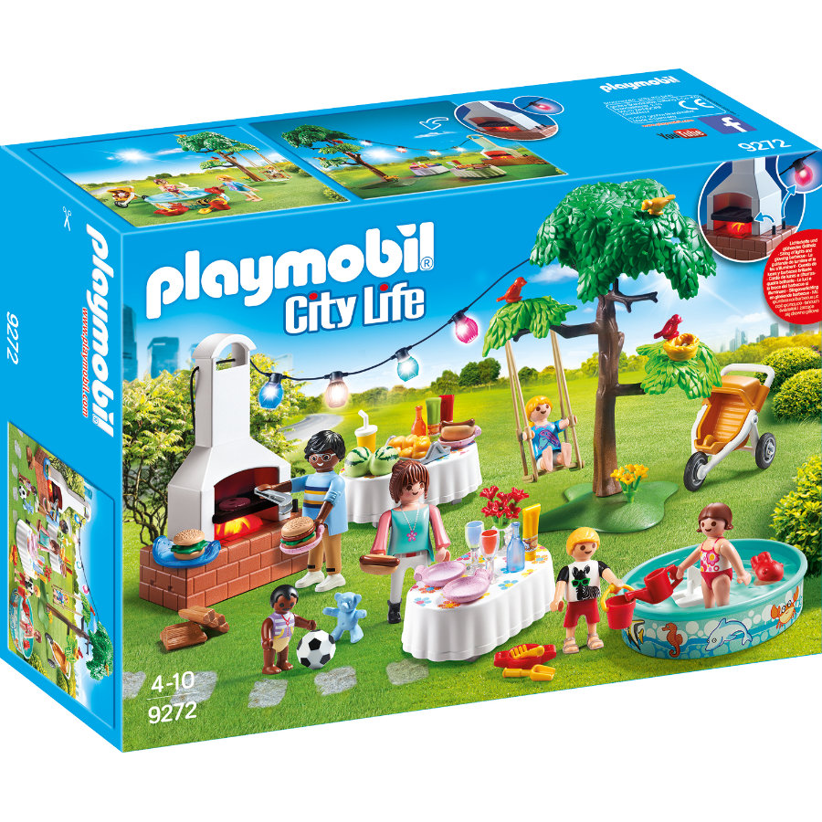 PLAYMOBIL® City Life Familiefeest met barbecue 9272