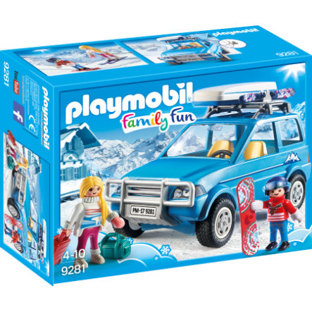 PLAYMOBIL® Family Fun Auto met dakkoffer9281