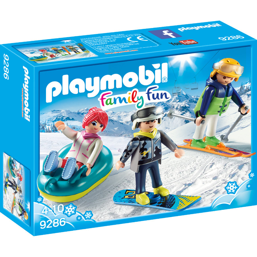 PLAYMOBIL® Family Fun vrij tijd wintersporter 9286