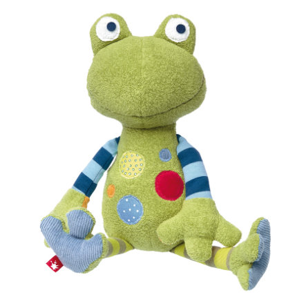 sigikid® Peluche grenouille Sweety patchwork