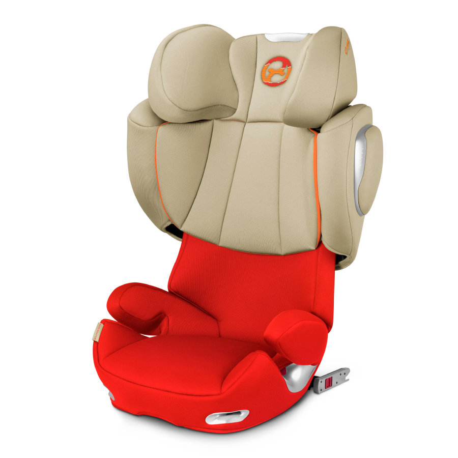 cybex PLATINUM Kindersitz Solution Q3-fix Autumn Gold-burnt red
