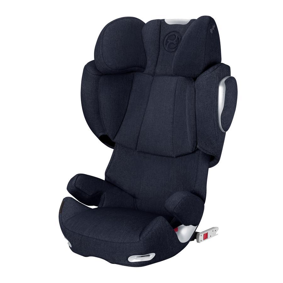 cybex PLATINUM Kindersitz Solution Q3-fix Plus Midnight Blue-navy blue