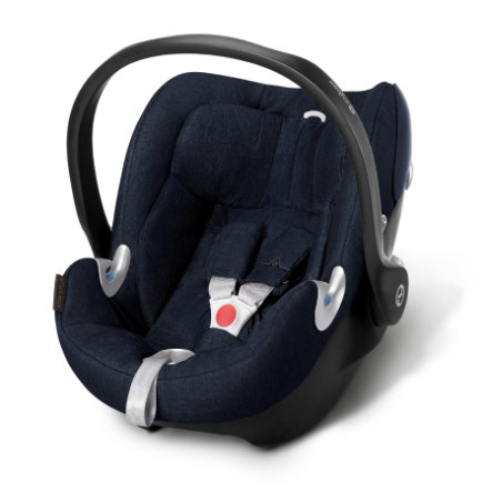cybex PLATINUM Babyschale Aton Q Plus Midnight Blue-navy blue