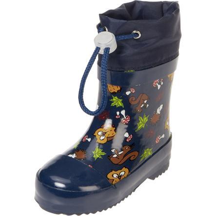 Playshoes Bottes enfant caoutchouc animaux de la forêt bleu
