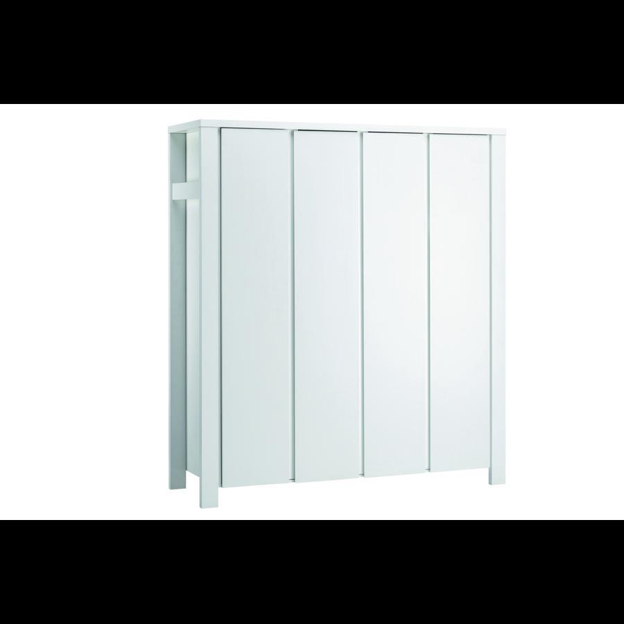 Schardt Armoire Milano, 4 portes, blanc