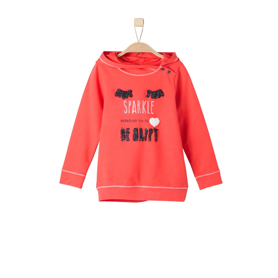 s.Oliver Girls Sweatshirt light red