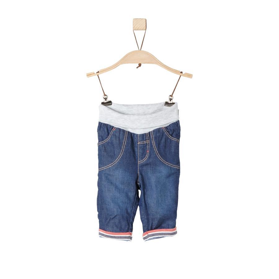 s.Oliver Jeans denim bleu