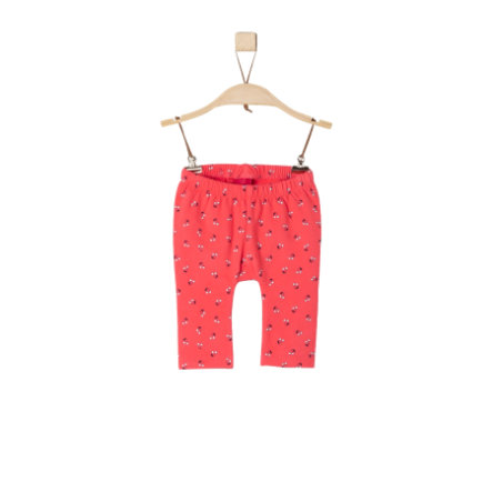 s.Oliver Leggings light red