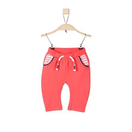 s.Oliver Girl s Pantalon de survêtement rouge