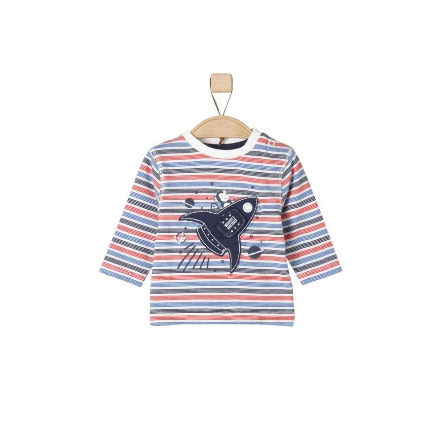 s.Oliver Långärmad tröja nature stripes