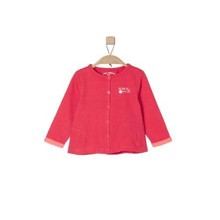 s.Oliver Girl s Veste de survêtement rouge mélangé