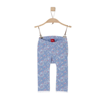 s.Oliver Leggings light blue