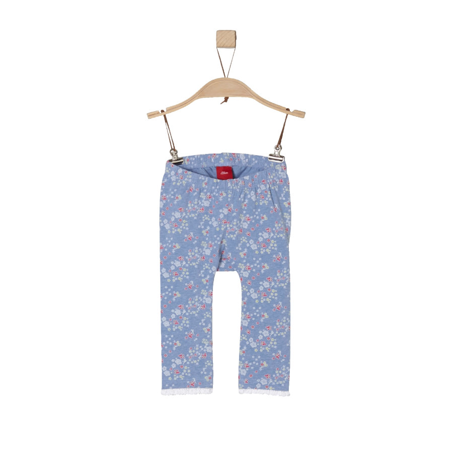 s.Oliver Girls Spodnie Leggings light blue