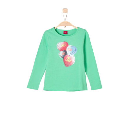 s.Oliver Girls Longsleeve green
