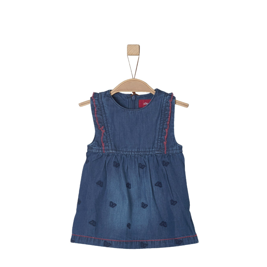 s.Oliver Girls Jeanskleid blue denim