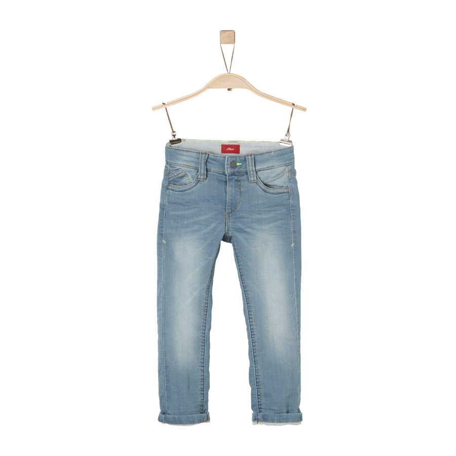 s.Oliver Boys Jeans light blue denim stretch slim