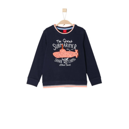 s.Oliver Boys Bluza dark blue
