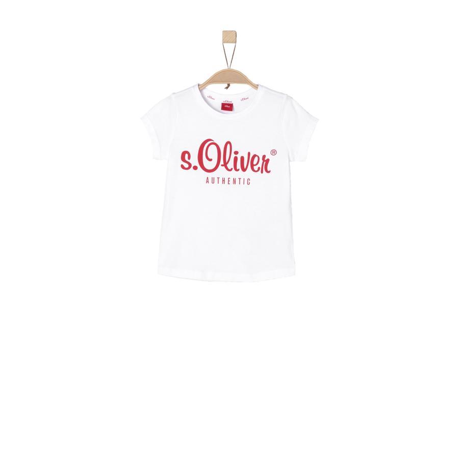 s.Oliver Girls Koszulka T-Shirt white