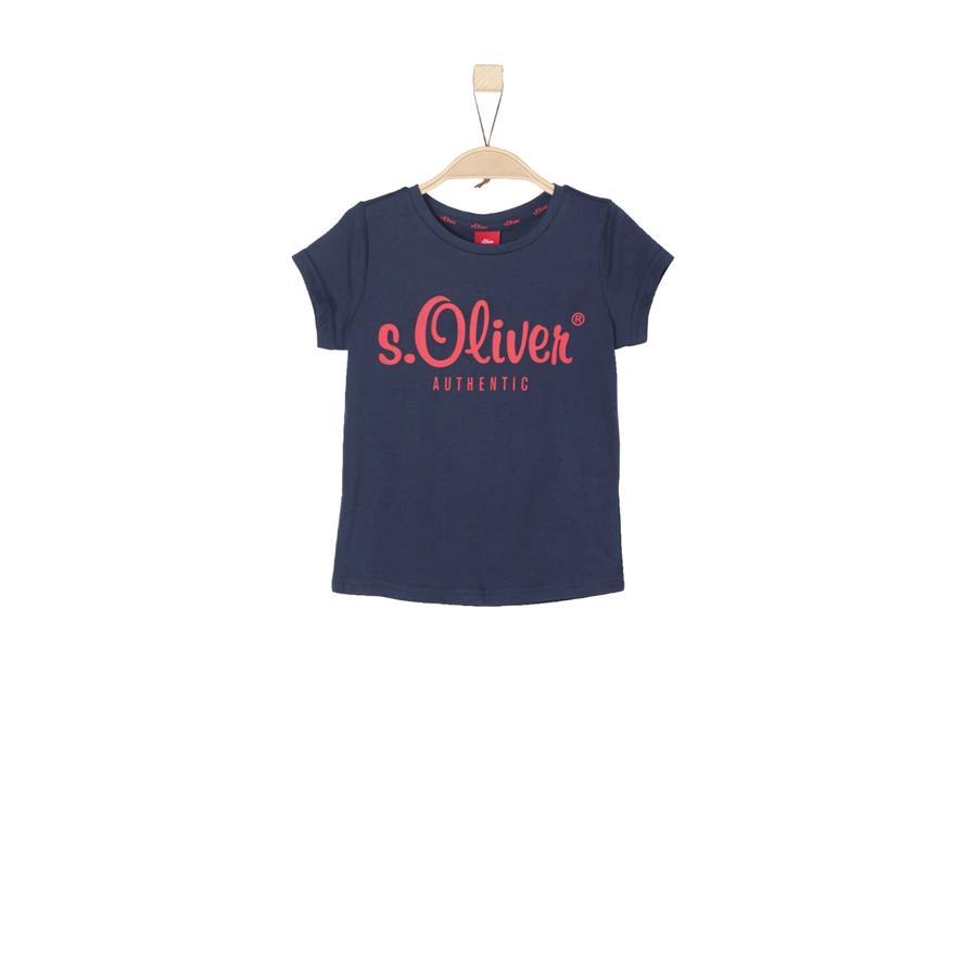 s.Oliver Girl s T-Shirt blauw