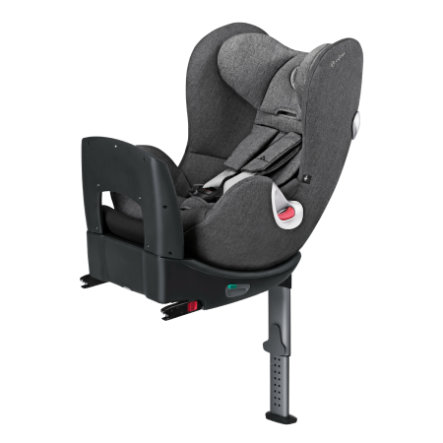cybex PLATINUM Kindersitz Sirona Plus Manhattan Grey-mid grey