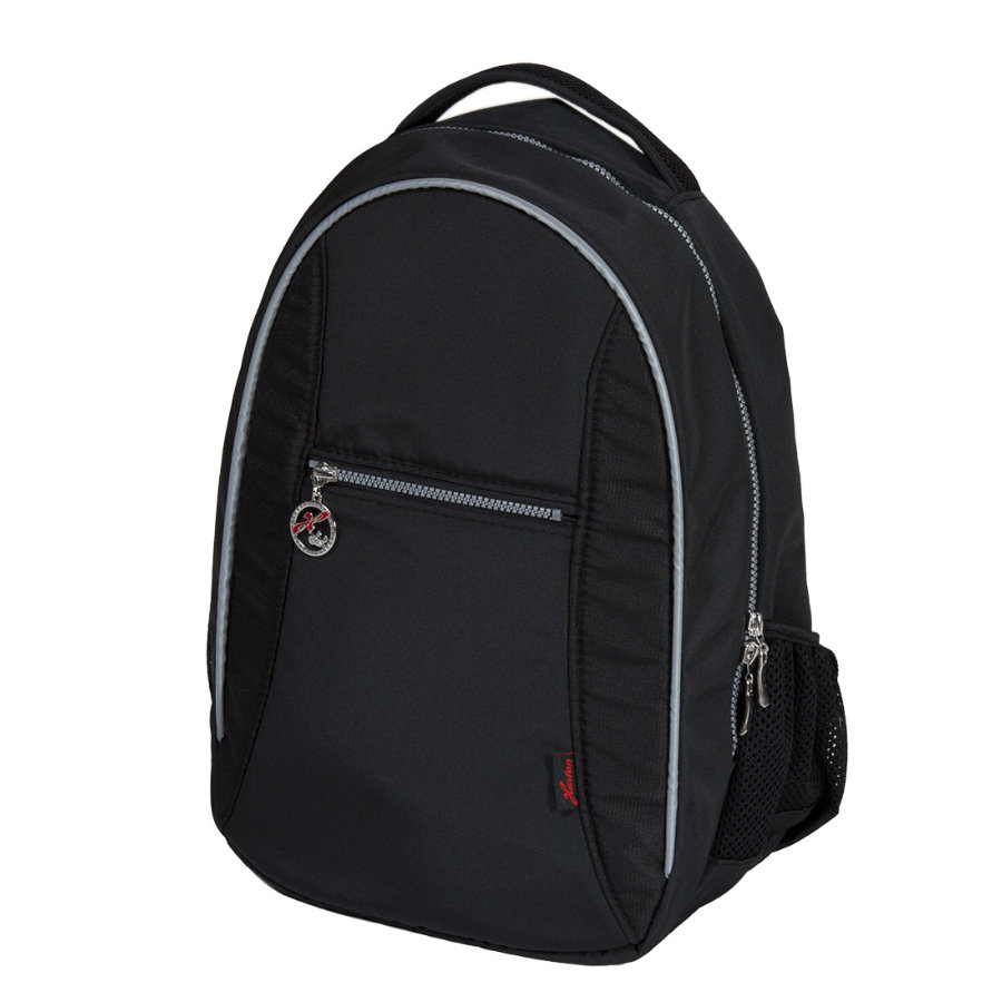 Hartan Wickelrucksack connected black (822)