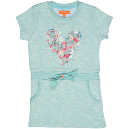 STACCATO Girls Sweatkleid pool structure