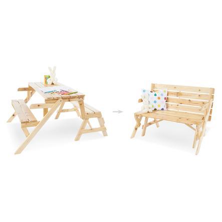 Pinolino 2in1 Kindersitzgarnitur und Gartenbank Elli