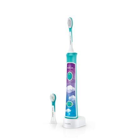 Philips Sonicare Elektrische Schallzahnbürste HX6322/04 For Kids blau