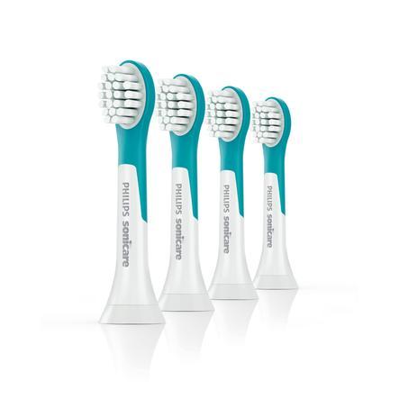 Philip Avent HX6034/33 Sonicare For Kids Mini-Tandenborstel opzetstukken, 4er Pack, vanaf 4 jaar