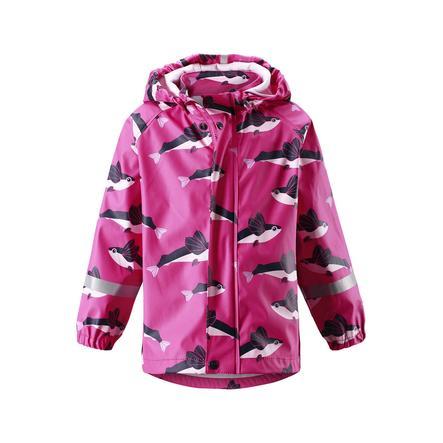 reima Chaqueta de lluvia Vesi rosa