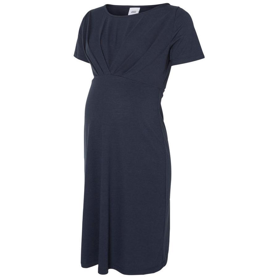 mama licious Robe Jersey Mlsella Ombre Bleue