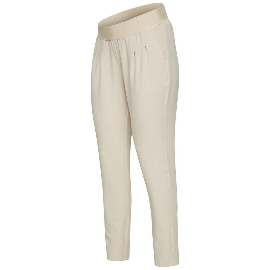 mama licious Pantaloni premaman Mlnew Business Outmeal beige
