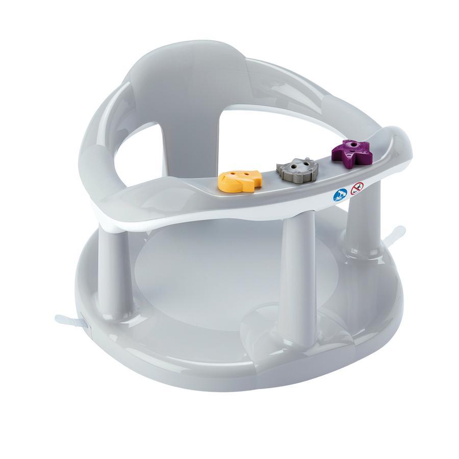 Thermobaby® Krzesełko do kąpieli Aquababy, kolor cool grey, do 6. miesiąca życia